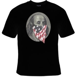 Other - Benjamin Franklin Mask tee NWT